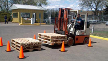 forklift operator training lifting pallet moving skids forklift towmotor lift truckstacking a load safety awareness training and certification